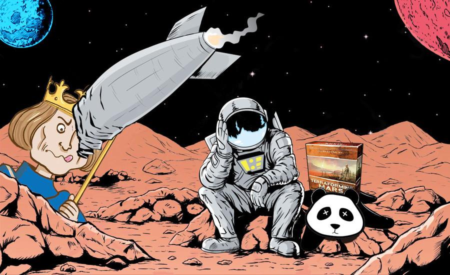 TTCup Prélude : Terraforming Mars valide son premier objectif