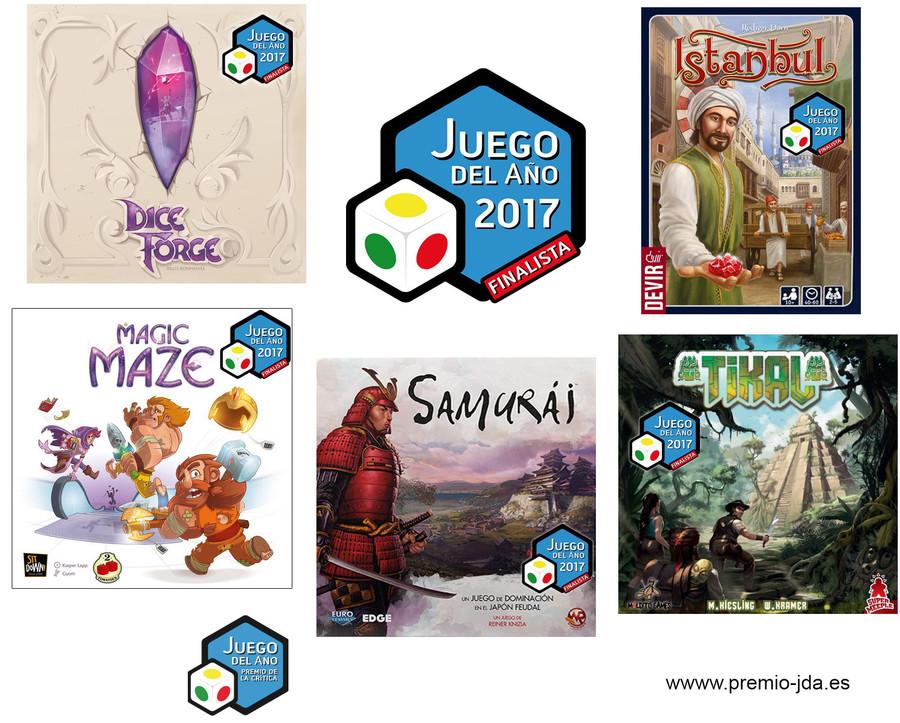 Les finalistes du Juego del Año 2017 sont...