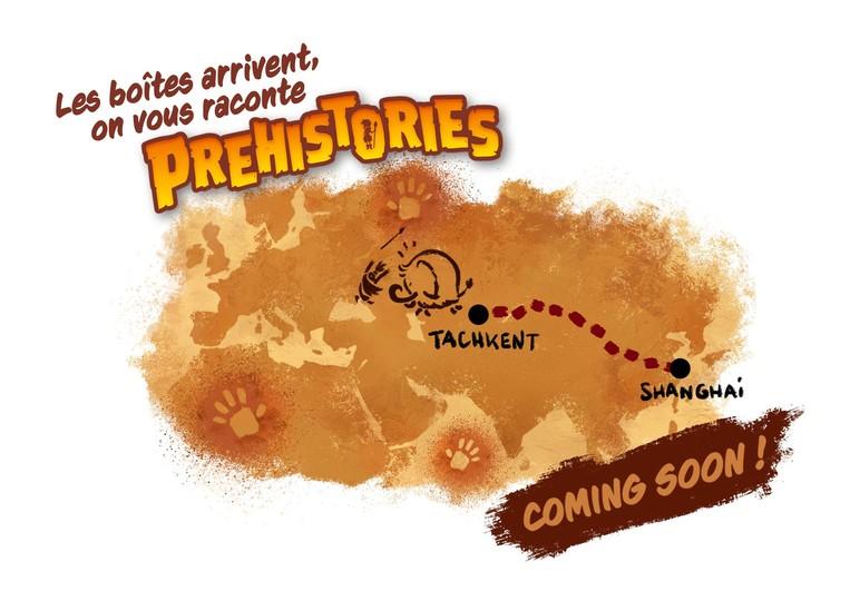 carnet d'auteurs : Prehistories (Flying Games)