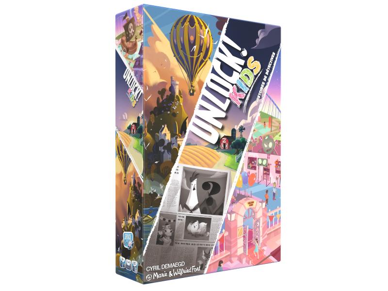 Unlock! Kids, sortie fin septembre chez Space Cow