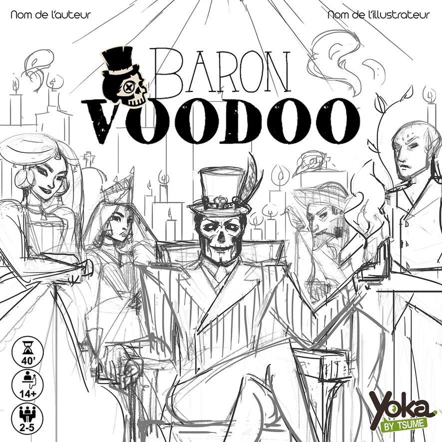 BARON VOODOO - Carnet d'auteur #3
