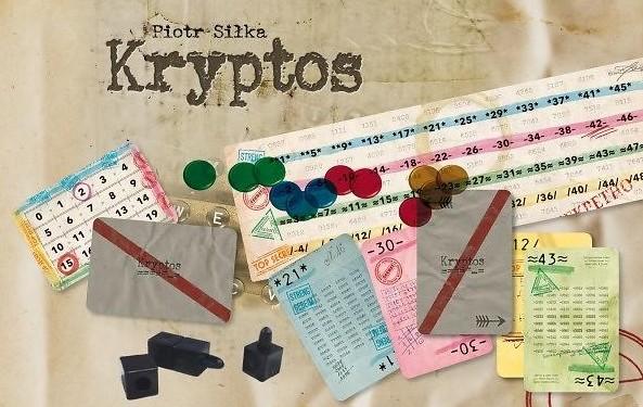 Faut savoir décoder dans la vie! Kryptos est enfin disponible...