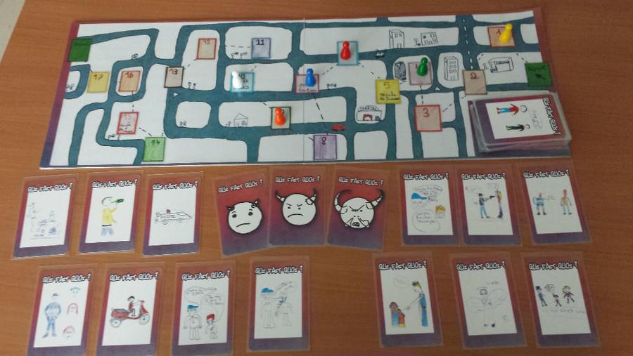 Atelier création de jeux « jeunes et police » ETAPE 2