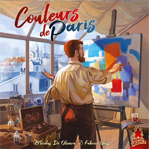 Couleurs de Paris, Carnet d'auteur