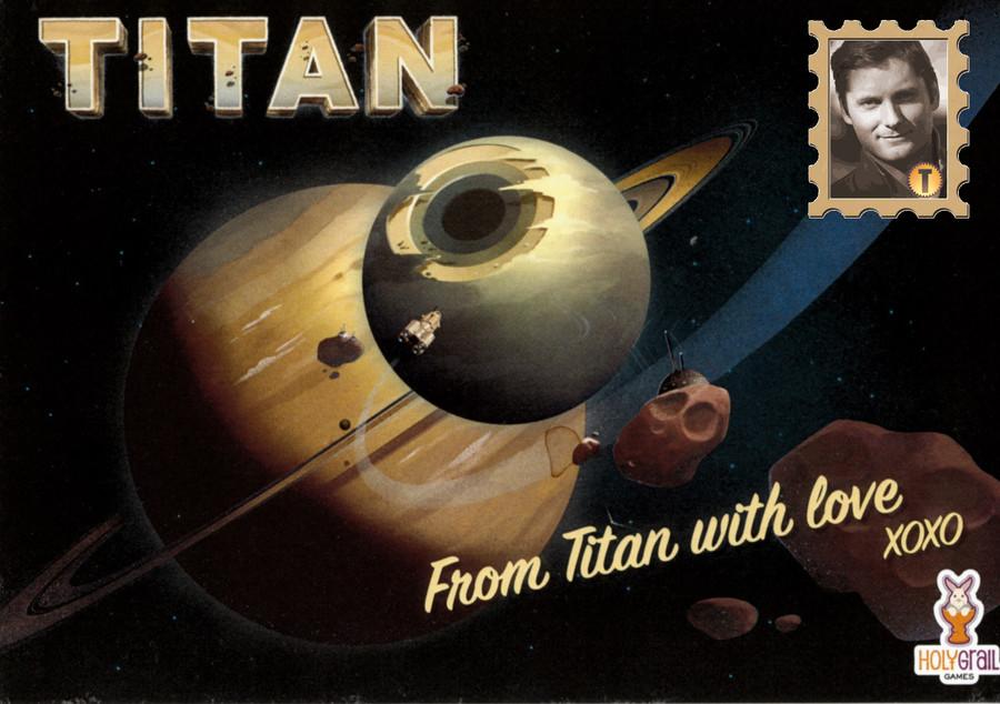 Carte Postale de TITAN: Carnet d'auteur 2/4