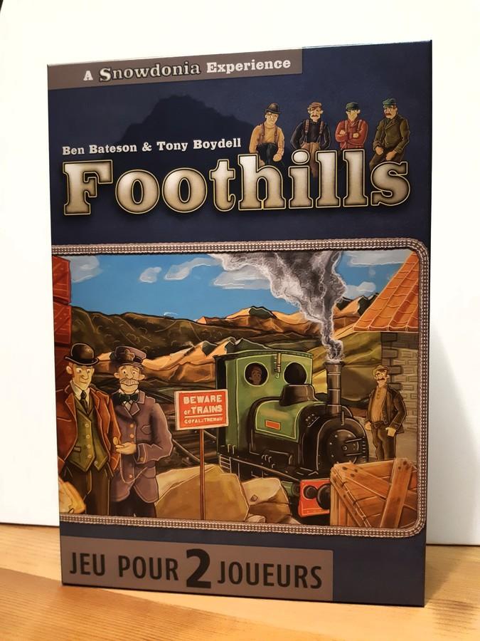 Foothills: le chemin de fer gallois pour deux joueurs