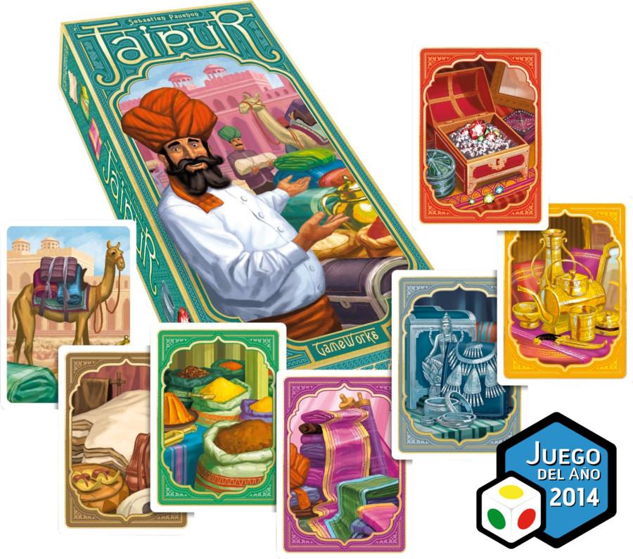 Jaipur: Spaniens Spiel des Jahres 2014