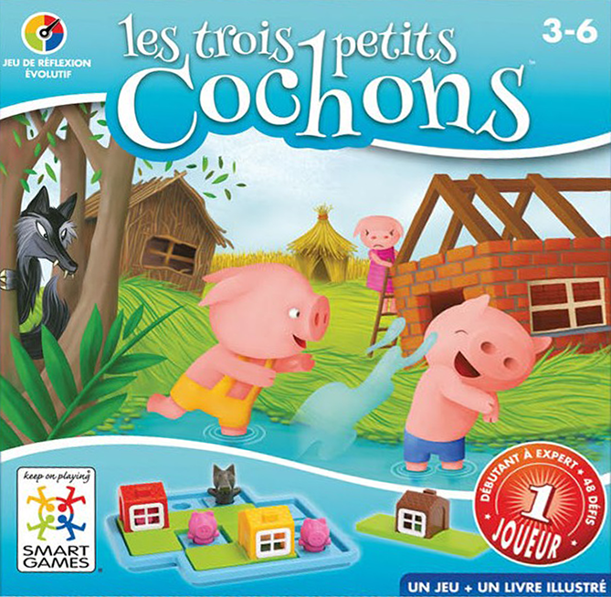 Les Trois Petits Cochons, la nouveauté Smart Games