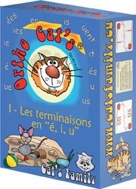 "Ortho Cat's 1 - Les terminaisons en ""é, i, u"""