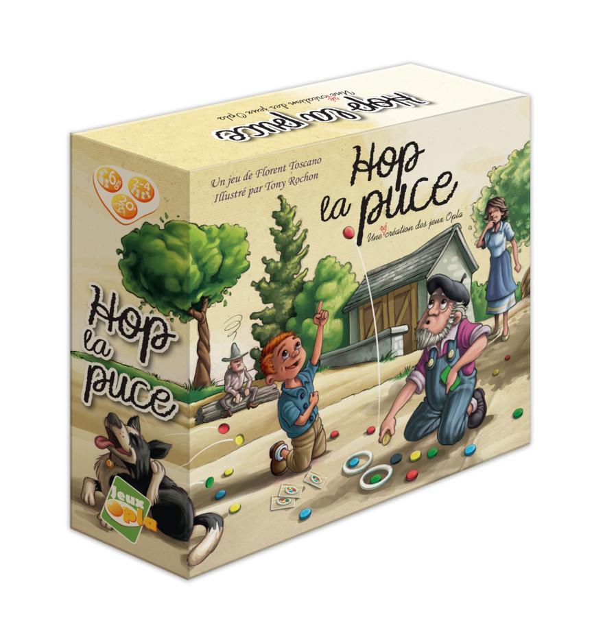 Hop la puce est disponible, avec des golden tickets et du goodies !