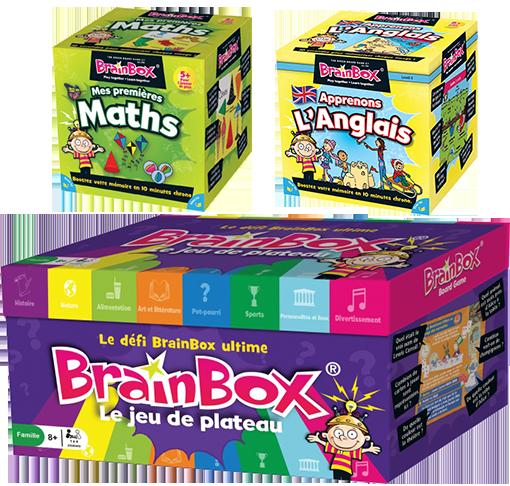 BrainBox, des nouveautés et un jeu de plateau