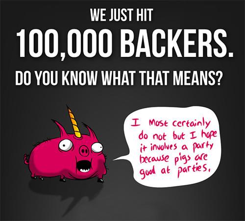 Exploding Kittens devient le Ks le plus de participants au monde de tous les temps !