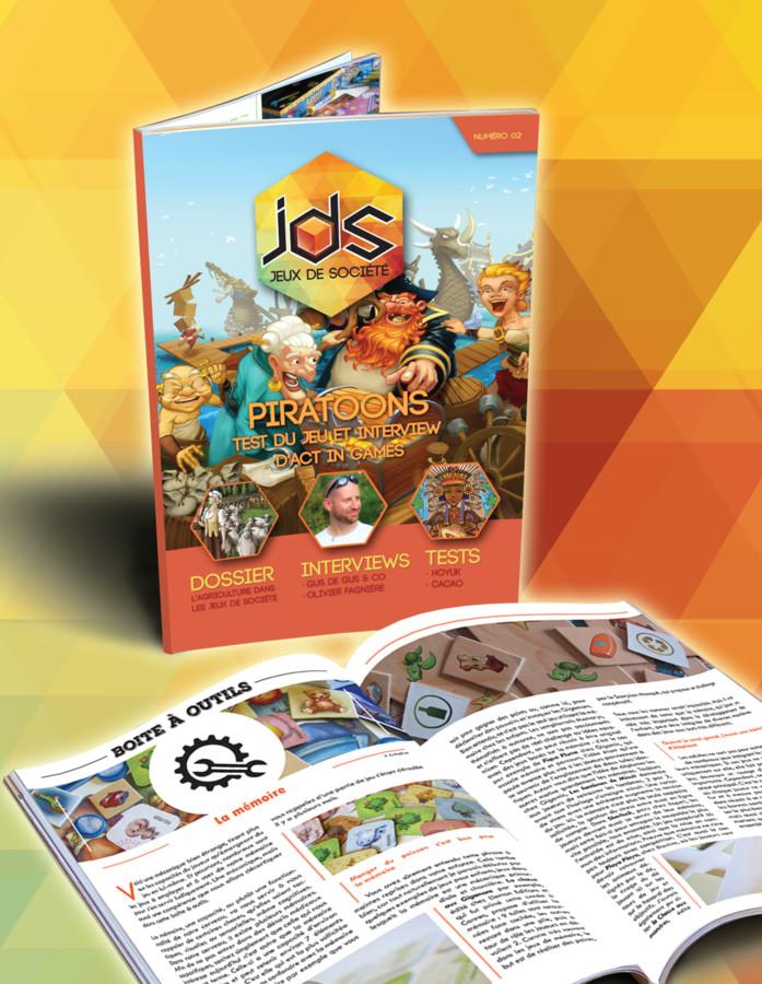 le magazine jds n°2, en téléchargement gratuit