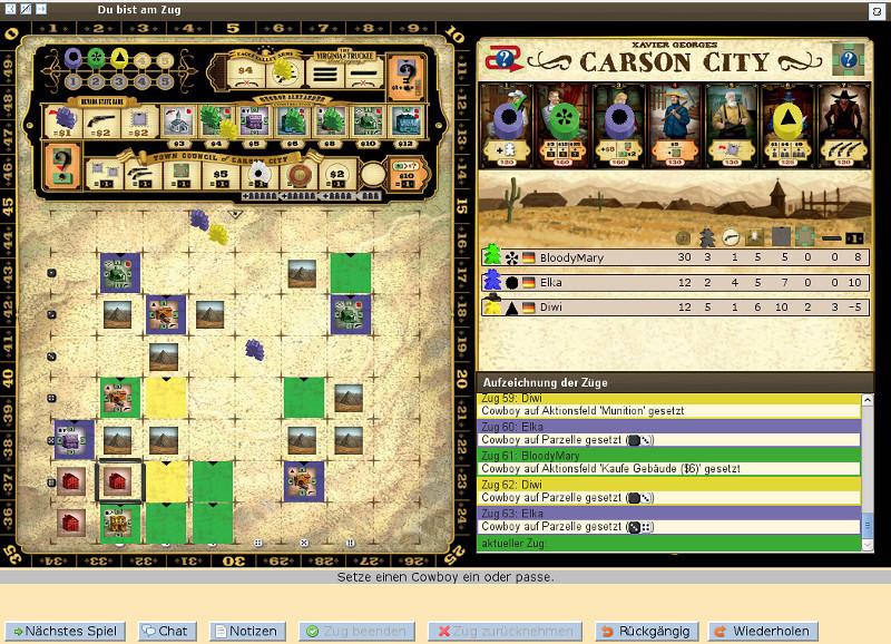 Killerspiel? Carson City im Browser