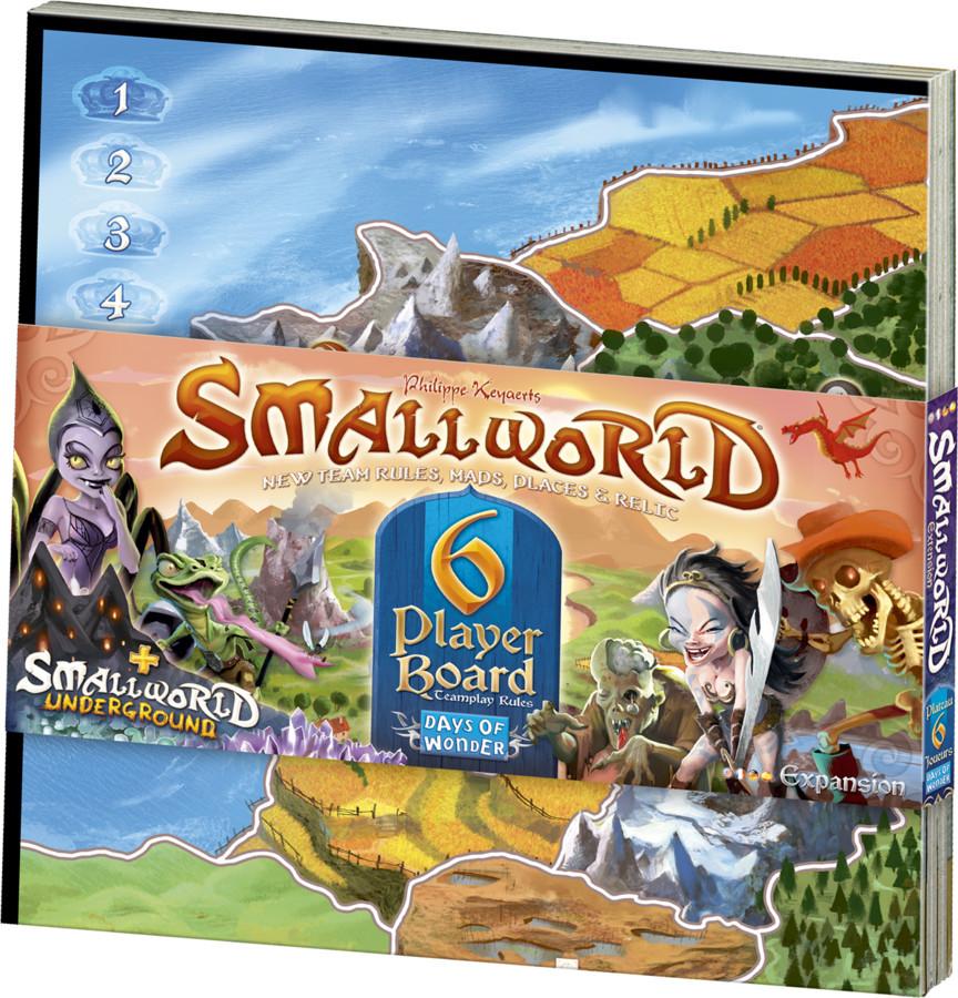 Small World plateau 6 joueurs
