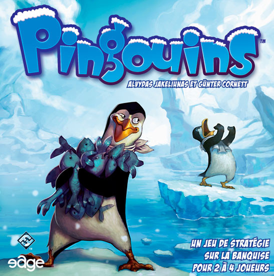 Pingouins: front