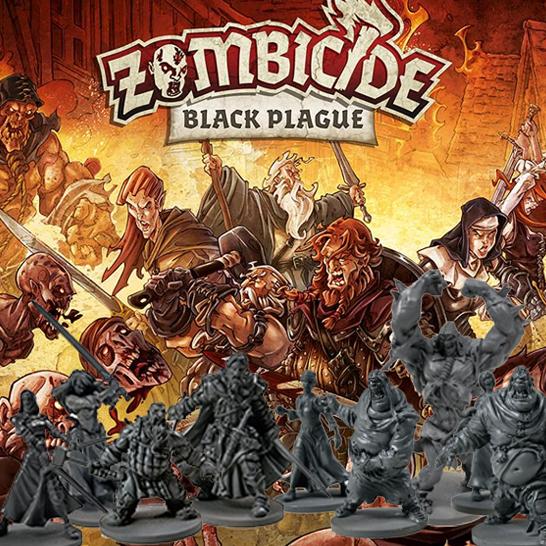 Zombicide - Black plague: La communauté de la zombie