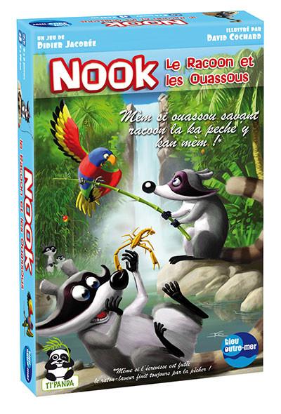 Nook le racoon et les ouassous sont là et c'est sans compter le loriquet...