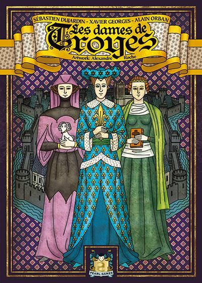 <p>Les Dames de Troyes arrivent en ville</p>