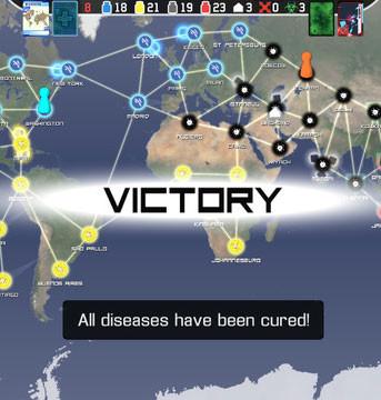 Pandemic avec un doigt