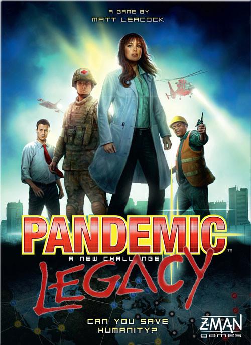 Pandemic Legacy, le Duo Magique