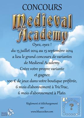 Resultats du Concours pour Medieval aCADEMY