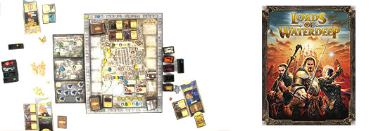 Lords of waterdeep, de le début de partie