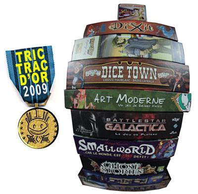 les Tric Trac d'Or 2009