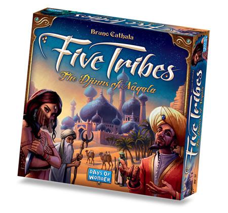 """Five Tribes """" L'awalé puissance 5 """""""