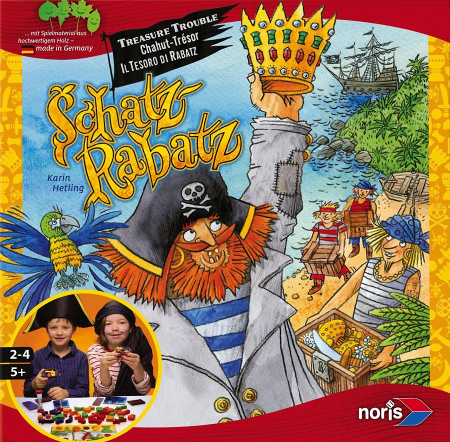 Schatz Rabatz, le pirate nominé