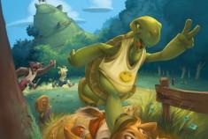Le lièvre et la tortue: