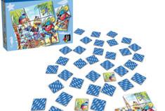 Memo-Puzzle : Version Pirates