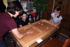 La Table à élastique