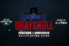 Legends of Grayskull - Un jeu de rôle qui s'annonce.