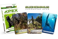 Apex Theropod Deck Building Game - Suchomimus Expansion Deck