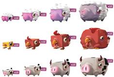 Happy Pigs: Farm Friends