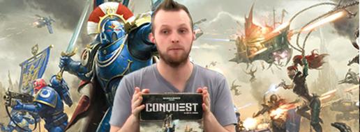 Warhammer 40000 conquest, le comment ça marche ?