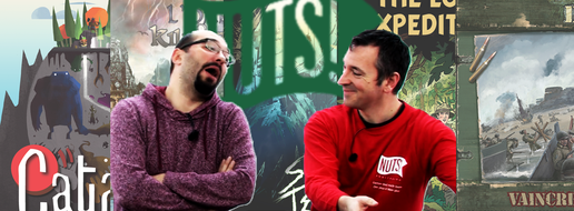 Nuts Publishing : les boardgames, de le papotache !