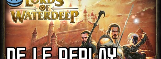 Lords of Waterdeep, de le portage virtuel !