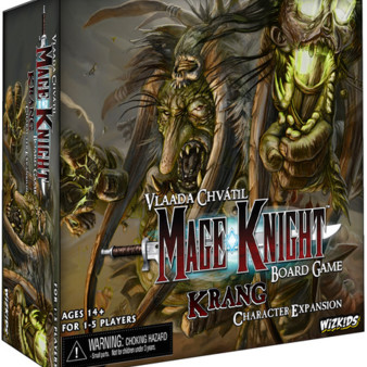 Mage Knight Board Game : Krang Character Expansion