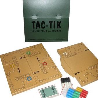 Tac tik photos vid os 6 jeu de soci t tric trac - Comment fabriquer le jeu tac tik ...