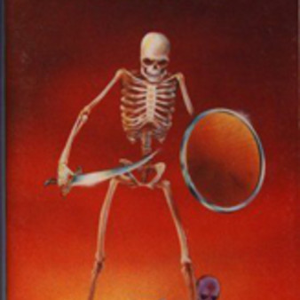 Lost Worlds - Skeleton with Scimitar and Shield