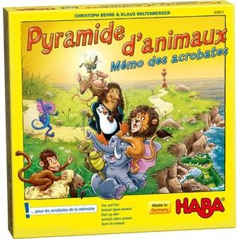 Pyramide d'animaux – Mémo des acrobates