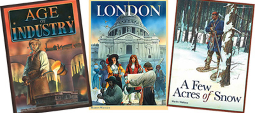 """London"" & ""Age of Industry"" chez Asmodee et aussi ""A Few acres of Snow"""