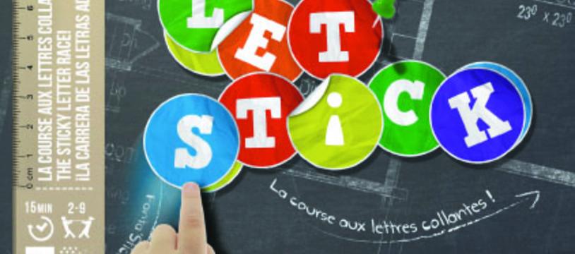 Let'stick, le 1er jeu de lettres qui transforme la maison en terrain de jeu