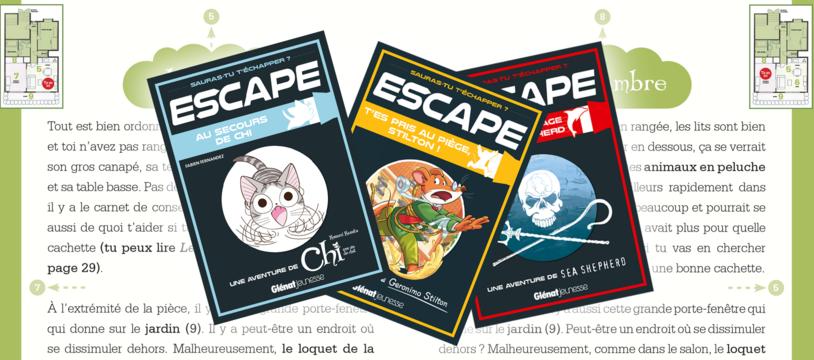 Escape : jouer au chat et à la souris (et au dauphin)