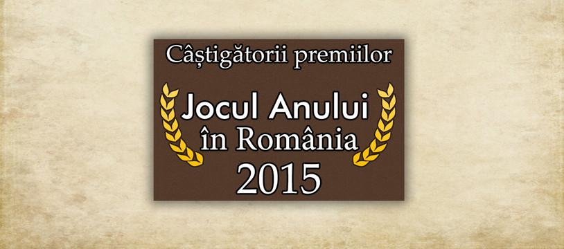 Pour les Roumains, les meilleurs jeux de l'année sont...