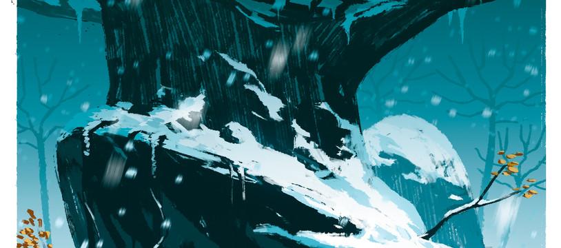 Illustration dédicacée exclusive Snowtime !
