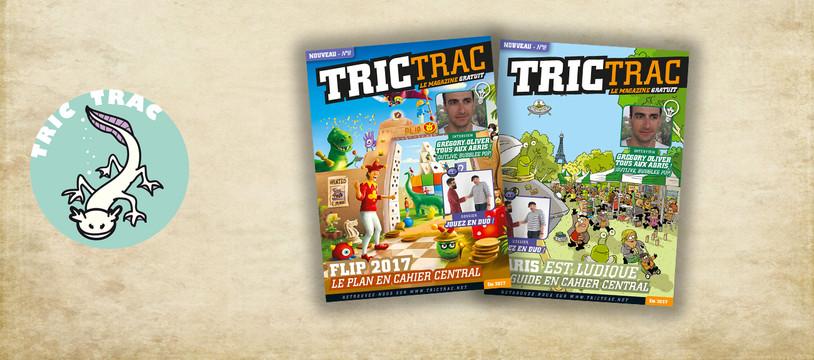 Tric Tract Mag N°8, Pel & Flip sont dans un bateau...