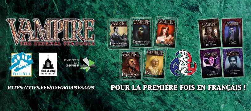 Vampire: The Eternal Struggle pour la première fois en français, au FIJ 2020